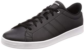online store ce467 6e6e2 adidas Womens Advantage Clean QT Low-Top Sneakers, Core BlackFootwear  White 0