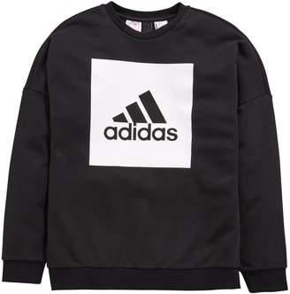 adidas Older Boys Logo Sweat