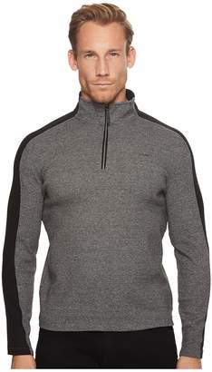 Calvin Klein Color Blocked 1/4 Zip Knit Men's Clothing