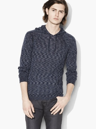 Abstract Pullover Hoodie $228 thestylecure.com