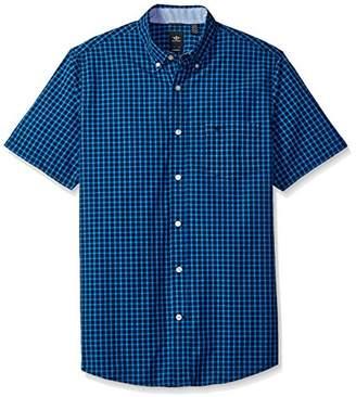 Dockers Beached Poplin Short Sleeve Button-Front Shirt