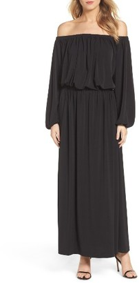 Women's French Connection Adele Off The Shoulder Maxi Dress $258 thestylecure.com