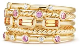 David Yurman Novella Stack Ring with Diamonds