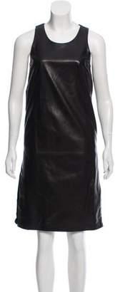 Christopher Kane Leather Knee-Length Dress