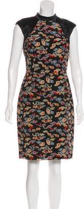 Jason Wu Silk Printed Dress