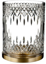 Waterford Lismore Reflection Lead Crystal Hurricane Glass