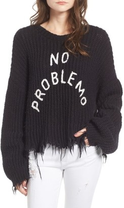 Women's Wildfox No Problemo Sweater $188 thestylecure.com
