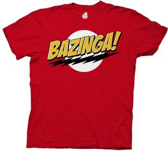 Ripple Junction Big Bang Theory Bazinga Adult T-Shirt