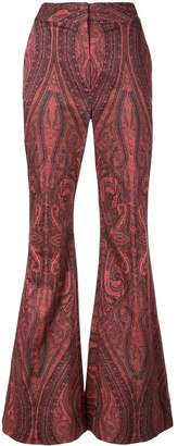 ADAM by Adam Lippes paisley wide-leg trousers