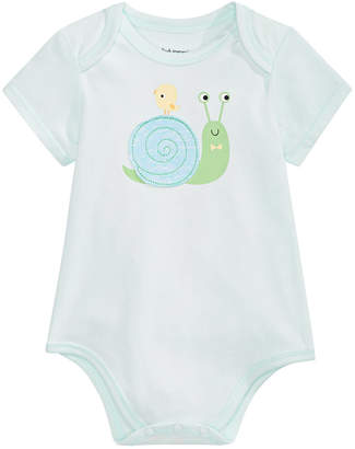 First Impressions Baby Boys Snail Bodysuit, Created for Macy's