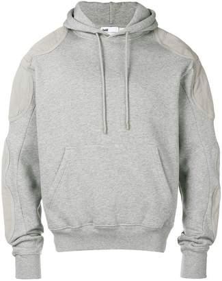 Gmbh paneled-sleeve hoodie