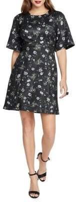 Rachel Roy Liza Floral Fit-&-Flare Dress