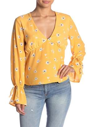 Emory Park Floral Long Sleeve Blouse