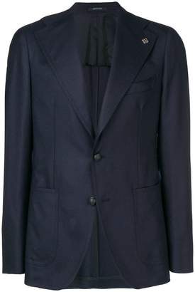 Tagliatore fitted suit jacket