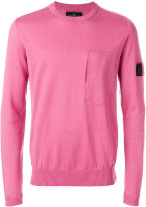 Stone Island Shadow Project classic crew neck jumper