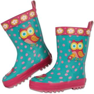 Stephen Joseph All Over Print Owl Rain Boot