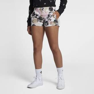 Converse Linear Floral Womens Track Shorts