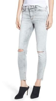 Hudson Nico Crop Step Hem Super Skinny Jeans
