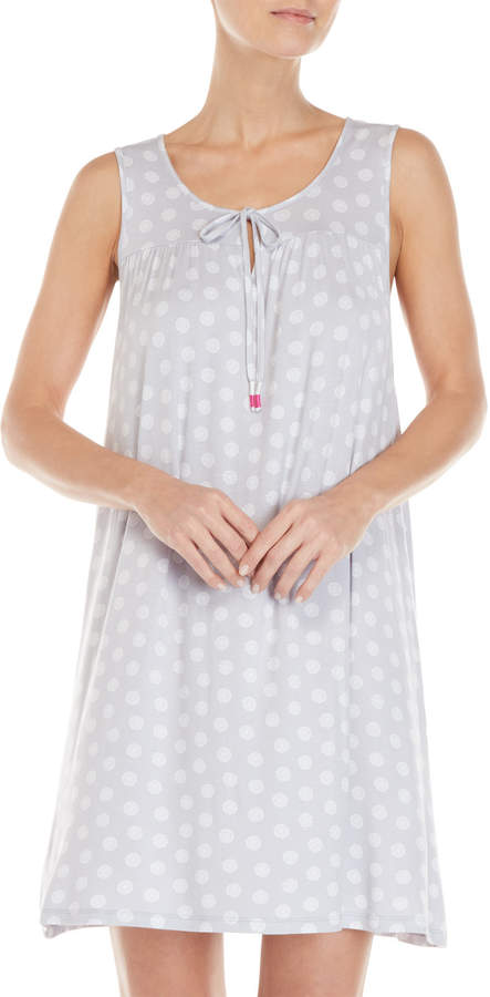 Company Ellen Tracy Sleeveless Printed Nightgown