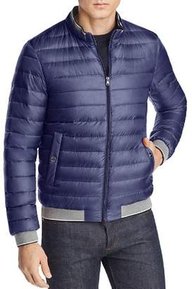 Herno Classic Quilted Down Bomber Jacket