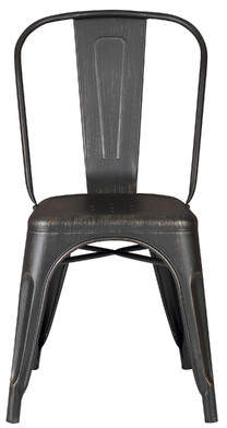 AC Pacific Armless Stackable Bistro Side Chair
