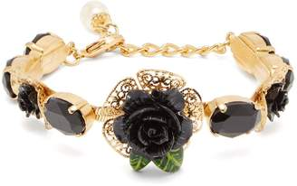 Dolce & Gabbana Rose and faux-pearl bracelet