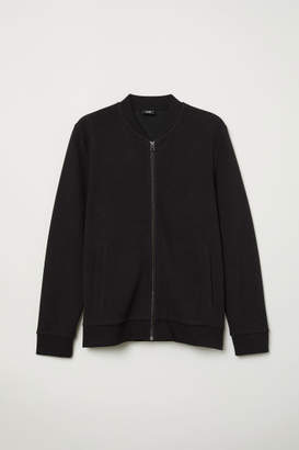 H&M Cardigan with Zip - Black