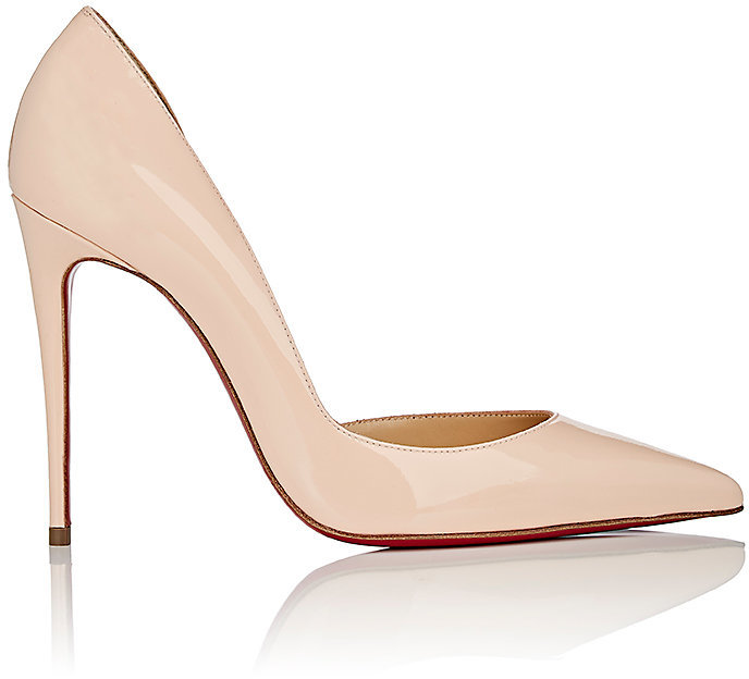 Christian Louboutin  Christian Louboutin Women's Iriza Patent Leather Half D'Orsay Pumps
