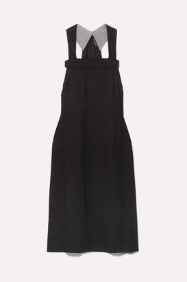 Rag & Bone Adrian Twill Midi Dress - Black