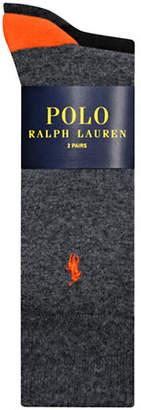Polo Ralph Lauren Mens Two-Pack Mid-Calf Socks