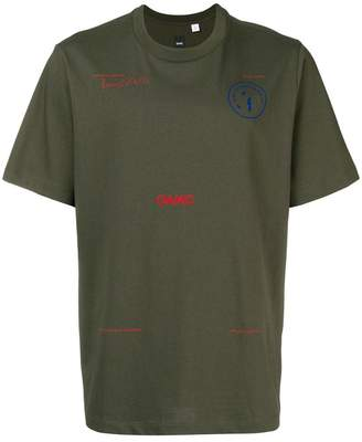 Oamc front printed T-shirt