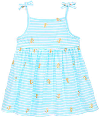 First Impressions Baby Girls Printed Cotton Sundress, Created for Macy's