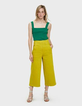 Tibi Garment Dyed Cropped Jean