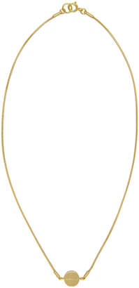 Isabel Marant Gold Boo Boo Necklace