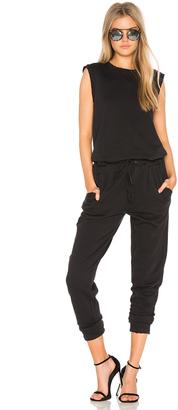 Joe's Jeans Marine Jumpsuit $198 thestylecure.com