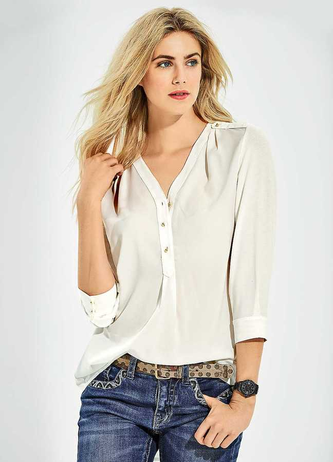 V Neck Blouse Shopstyle 75