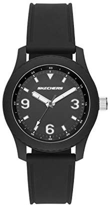 Skechers Women's Quartz Plastic and Silicone Casual Watch