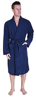 Cherokee Men's Lux Plush Robe