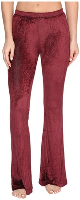 Hard Tail - Flare Leg Shimmer Pants Women's Casual Pants $75 thestylecure.com