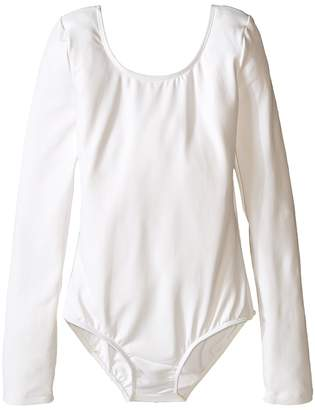 Bloch Microlux Long Sleeve Leotard Girl's Jumpsuit & Rompers One Piece