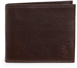 Polo Ralph Lauren Bi-Fold Leather Wallet