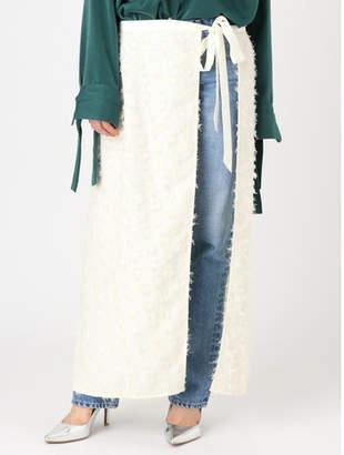 Ungrid (アングリッド) - アングリッド ジャカードラップスカート