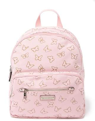Madden-Girl Printed Foil Canvas Backpack