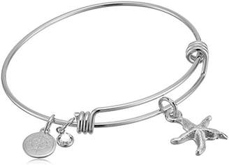 Halos & Glories Star Fish Charm Bangle Bracelet