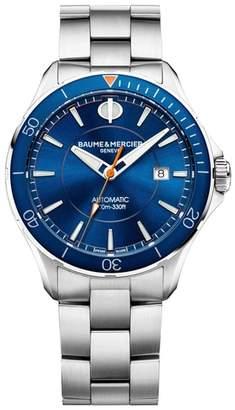 Baume & Mercier BAUME AND MERCIER Clifton Automatic Bracelet Watch, 42mm