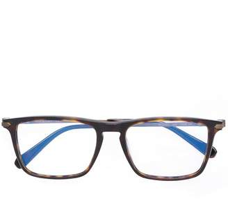 Brioni thin rectangular frame glasses