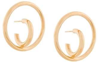 Charlotte Chesnais Saturn Blow Large earrings