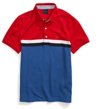 Tommy Hilfiger Custom Fit Colorblock Performance Polo