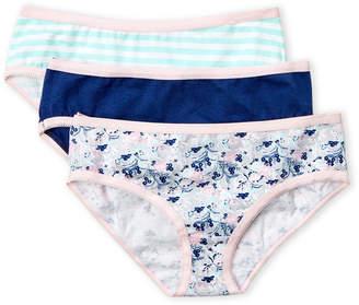 Rene Rofe Girls 7-16) 3-Pack Bikini Panty