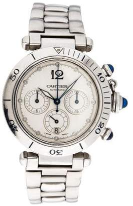 Cartier Pasha Seatimer Chronograph Watch